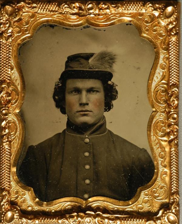 Photograph of Bucktail Robert Valentine.