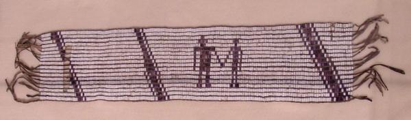 Image of a beaded wampum belt.