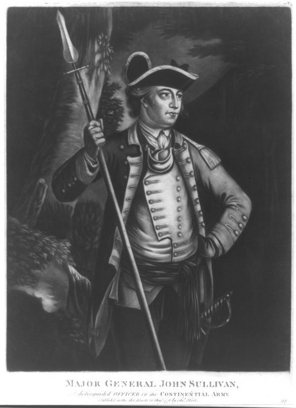 Major General John Sullivan.