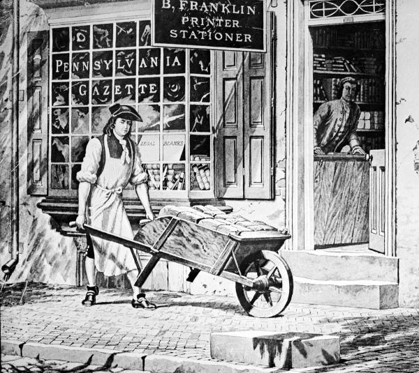 Benjamin Franklin's Printing Shop