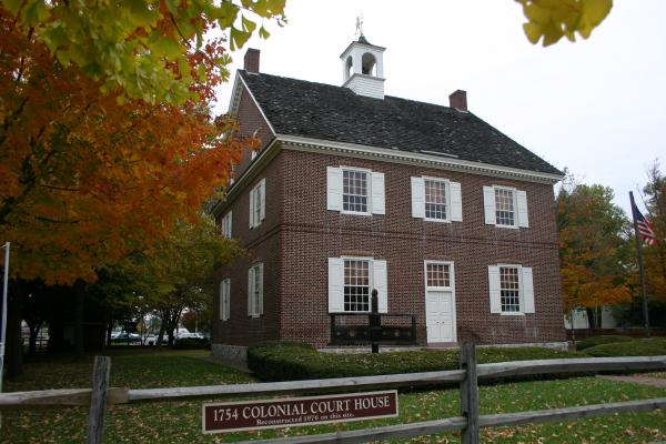 Color photograph of the Courthouse.