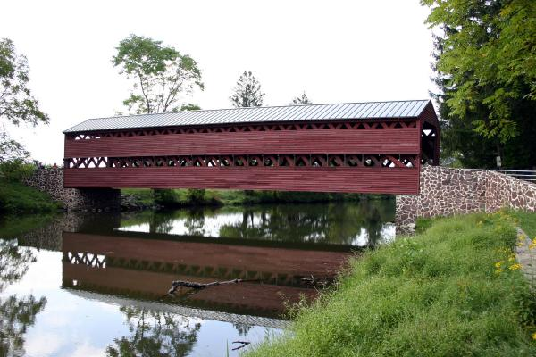 Image of Sachs Covered Bridge.