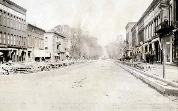 Image of Pinchot road after paving.
