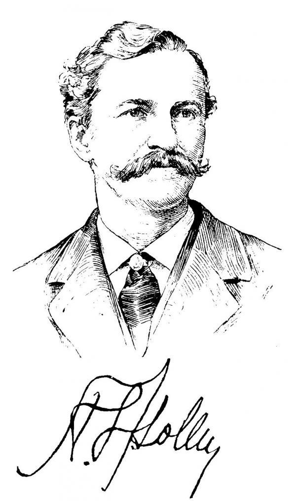 Sketch of Alexander Lyman Holley.