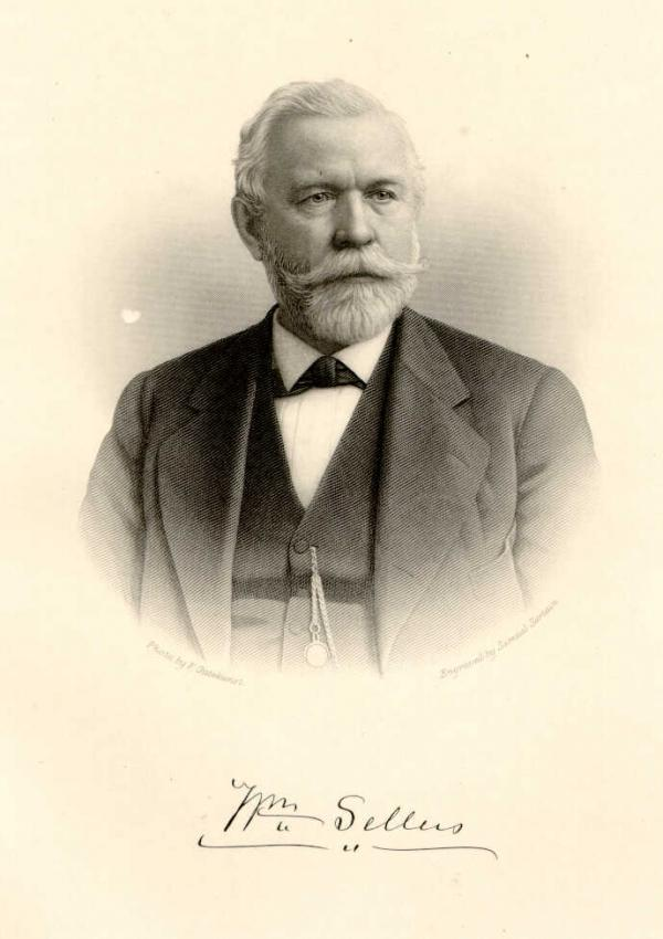 Image of William Sellers.