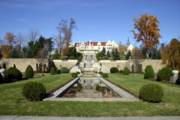 Mansion and gardens