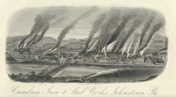 Cambria Iron and Steel Works, Johnstown, Pa.