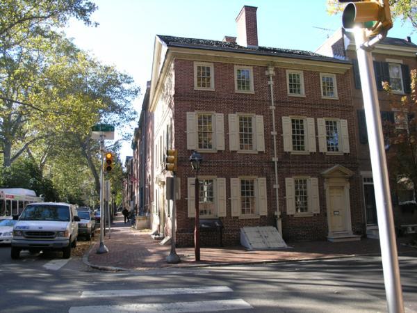 Kosciuszko House at 301 Pine Street in Philadelphia, 2006.