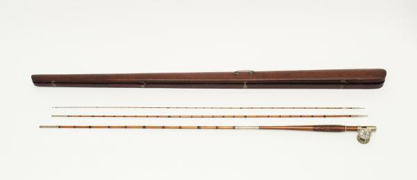 Color image of the rod and case.