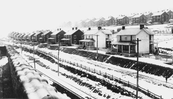 Image of patch town homes in rows.