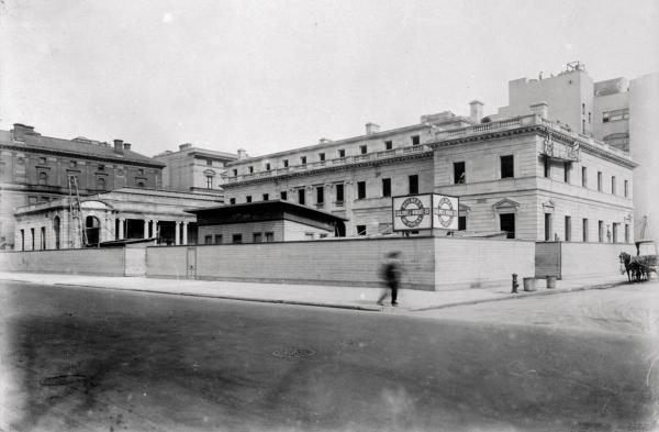 This photo shows the Exterior View Home of Henry Clay Frick, at 5th Avenue and 70th Street, New York.