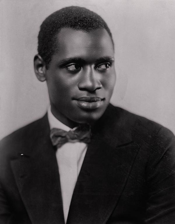 Portrait of Paul Robeson Smiling for Camera, 1926