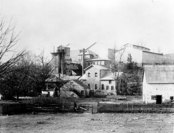Image of the gounds and buildings.