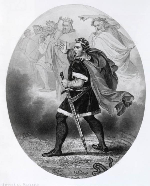 the theme of the supernatural element in act 1 scene 1 of the play macbeth by william shakespeare Get an answer for 'comment on the use of supernatural elements in macbeth' and find homework help for other william shakespeare questions at enotes.