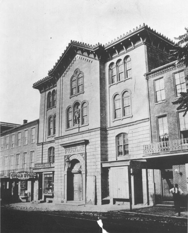 Exterior façade
