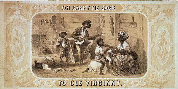"Sheet music for ""Carry Me Back to Old Virginny"