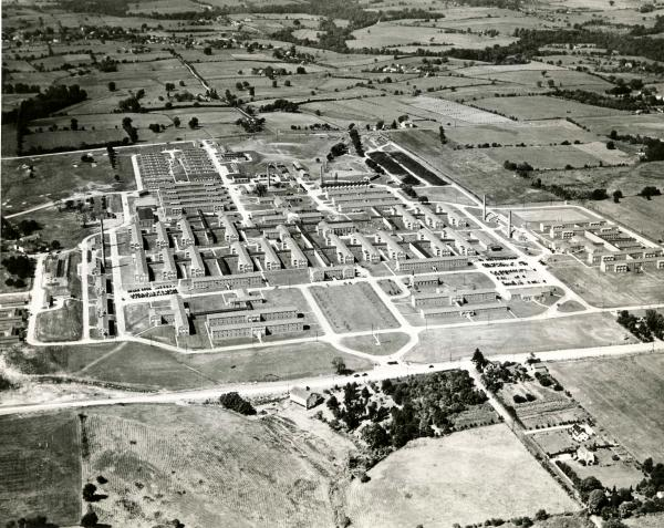 Aerial View of the Valley Forge General Hospital, Phoenixville, Pa., January 1946