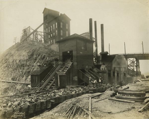 Mining Operations at Cornwall Ore Banks