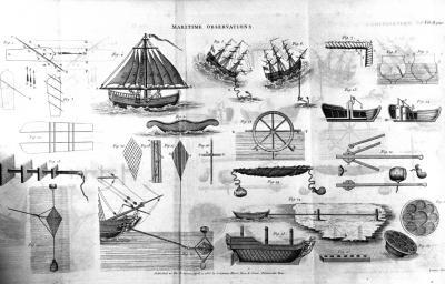 Maritime Illustration of vessels