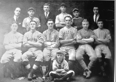 The Homestead Steel mill team of 1910.