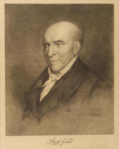 Portrait of Stephen Girard