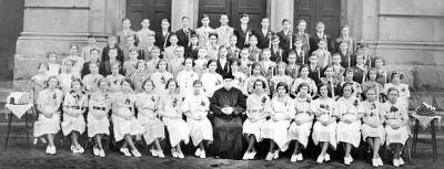 image of graduates from St. Stephen's Slovak Catholic Church