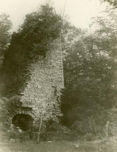 The remains of Karthaus Furnace