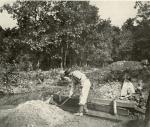 Washing ore at the Hopewell mines.