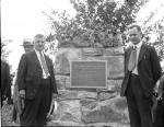 Image of marker dedication
