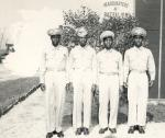 Photograph of four uniformed African-Americans.