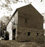 Sepia photo of the restored mill as it appears today.