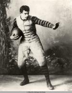 John W. Heisman in his University of Pennsylvania football uniform, circa 1891.