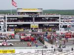 Picture shows the prerace ceremonies at victory lane before the Pocono 500