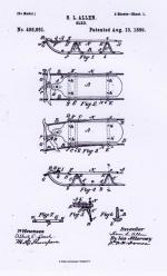 Official patent drawing and information.