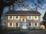 Photo of a large two-story brick house used as Washington's headquarters in 1776.