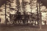 Wheatland Front Facade, ca 1860s-1870s.