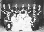 Commencement, Missionary Institute Class of 1891.