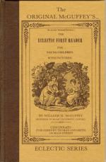 Cover of First Eclectic Reader, 1836