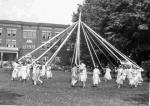 May Pole dance on Arbor Day