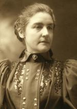 Sepia photograph, head and shoulders