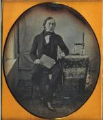 Daguerreotype of Martin Hans Boye.