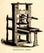 Benjamin Franklin's printing press'