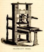 Benjamin Franklin's printing press'