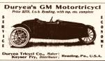 A photograph and ad for the Gem