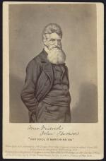 """Your friend John Brown - """"his soul is marching on"""" / enlarged and painted by J.W. Dodge, from the original picture taken from life., pub NY 1865,"""