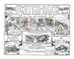 "Advertisement for the ""Famous Switch-back Railroad"""