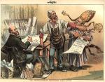 Henry George cartoon