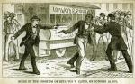 <i>Scene of the Shooting of Octavius V. Catto,</i> on October 10, 1871.