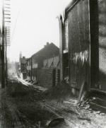 Harrisburg's Eighth Ward, unpaved Tanner's Alley, looking south