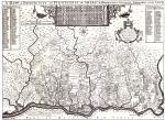 Fac-simile of a part of Holme's Map, showing settlers of Delaware County, PA., taken from an original. Ca. 1681
